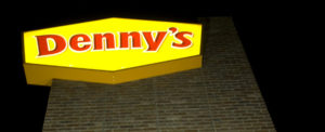 Tightwad Assignment – Free food at Denny's post image
